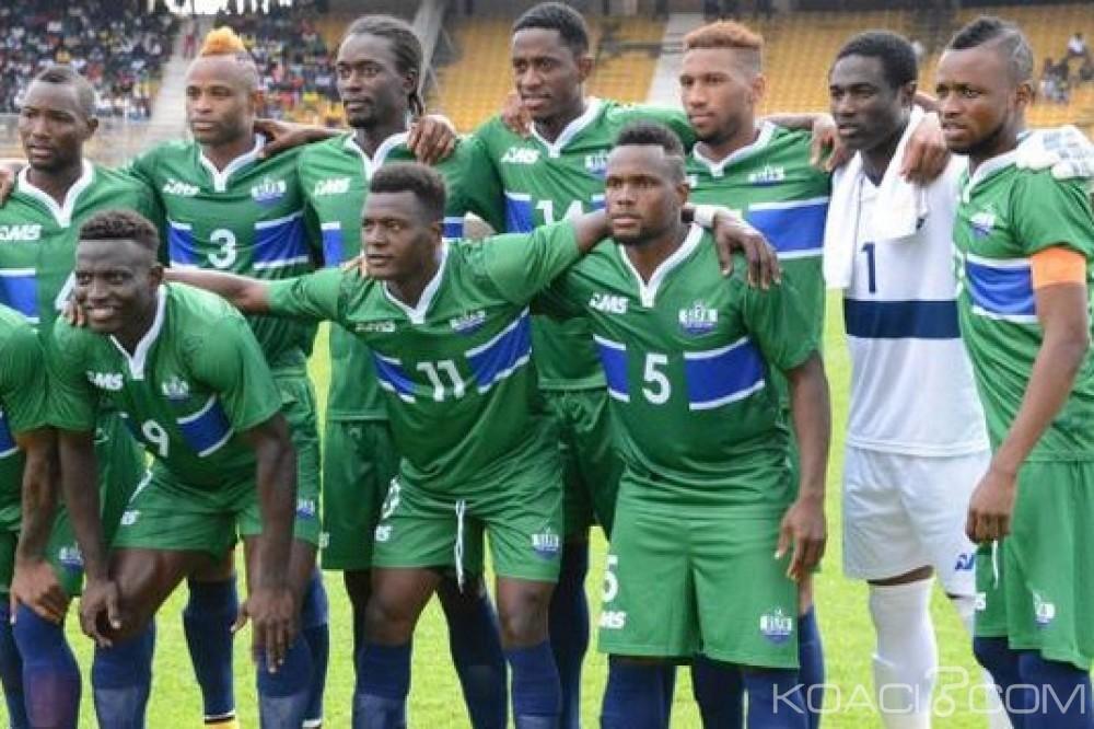 Séria Leone-Ghana : Elim. CAN 2019, la CAF annule les matchs Leone Stars-Black Stars