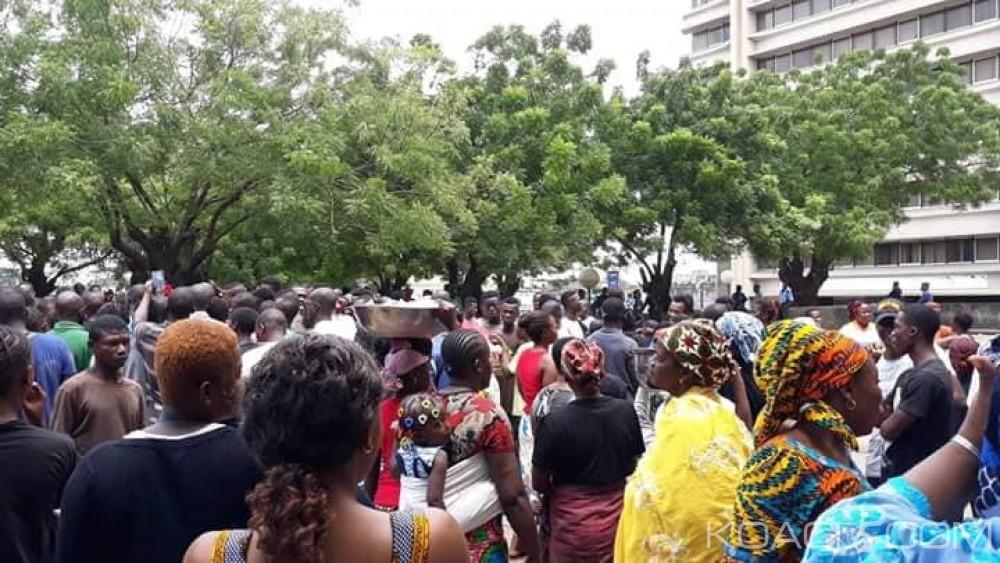 Côte d'Ivoire : Après Treichville Habitat, les habitants d'Adjamé Mirador manifestent contre le déguerpissement programmé de leur quartier