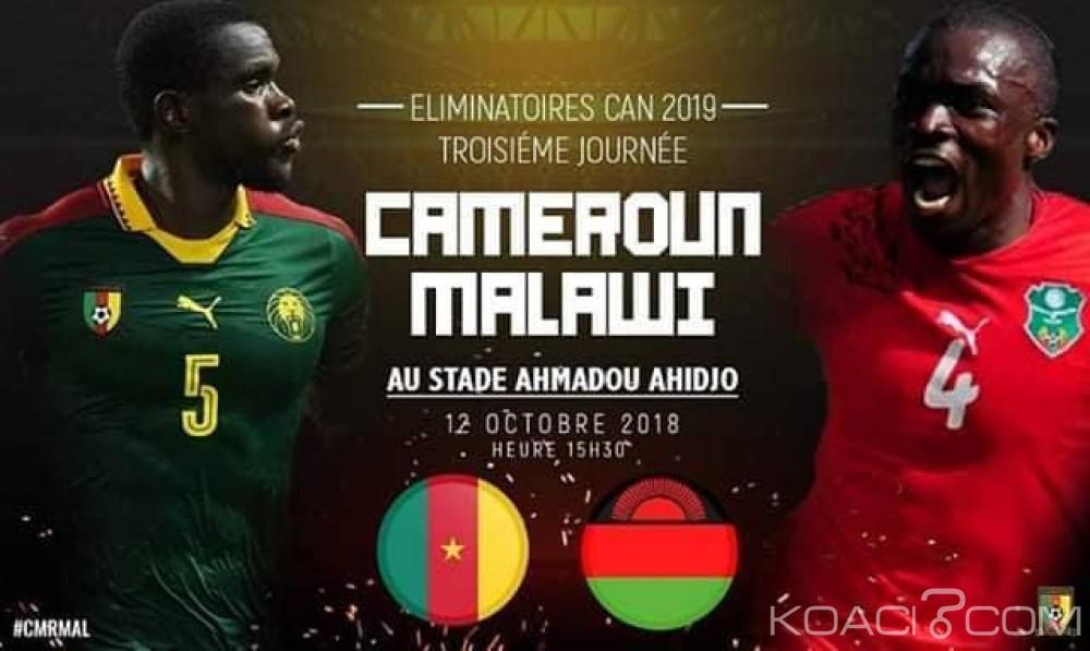 Cameroun : Voici les Lions indomptables qui affronteront le Malawi