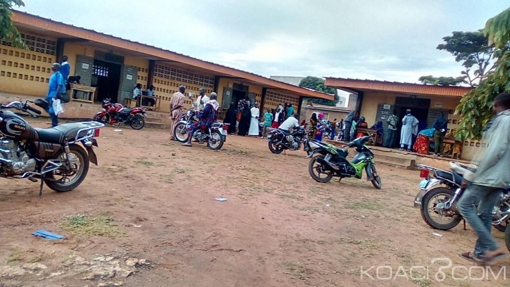 Côte d'Ivoire : Locales 2018 à Bouaké, scrutin sous très haute surveillance dans un centre, la présence d'un candidat,lors du dépouillement contesté