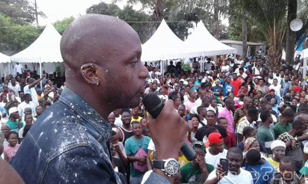 Côte d'Ivoire : Après son élection Ehouo à son QG «j'irai remercier Blé Goudé et Gbagbo»