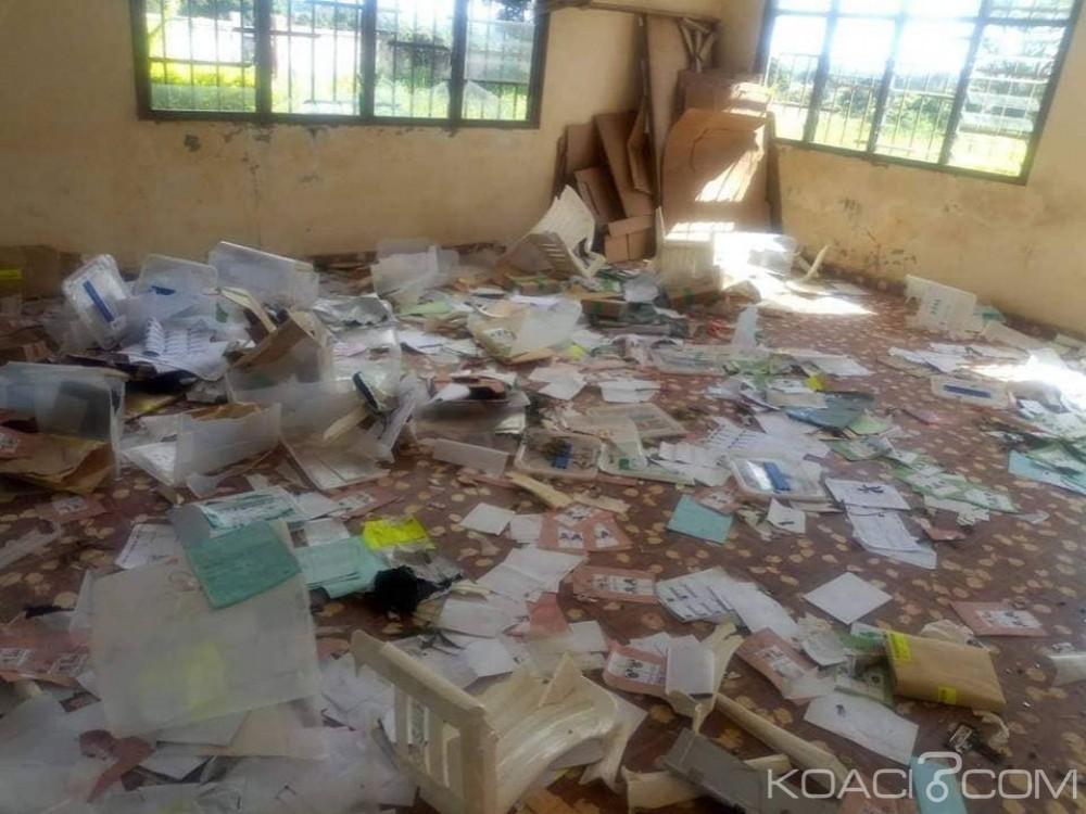 Côte d'Ivoire : Sangouiné, un indépendant étale le candidat du RHDP, ses partisans attaquent la Sous-Préfecture, le Président de la CEI locale en fuite