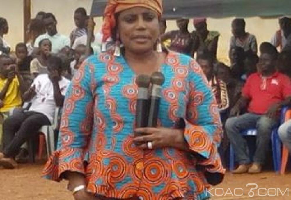 Côte d'Ivoire:  Face aux accusations du camp Affi, Aka Véronique charge «Affi a séquestré le président de la CEI locale et il a fabriqué ce qu'il devait fabriquer»