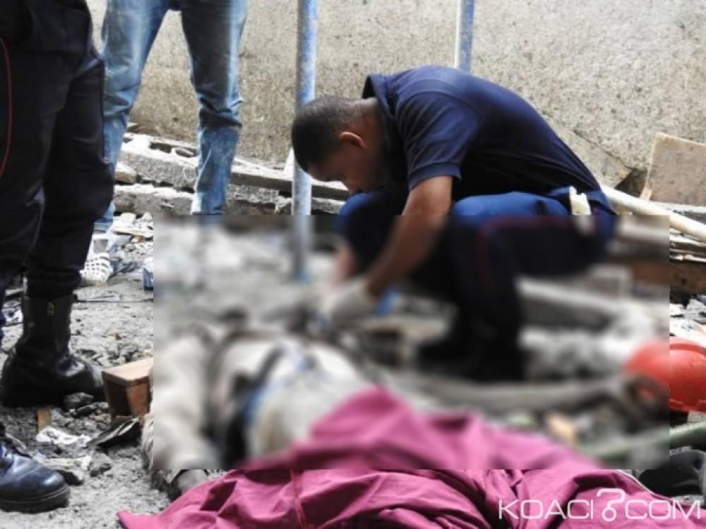 Côte d'Ivoire : Un ouvrier  tombe d'un immeuble en construction et décède à Marcory