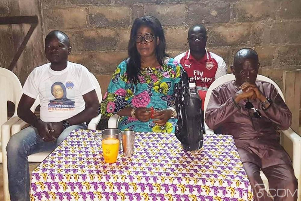 Côte d'Ivoire : Après sa victoire proclamée à Guiberoua, Nicole Zezé «on veut me voler ma victoire, le candidat malheureux du RHDP me menace»
