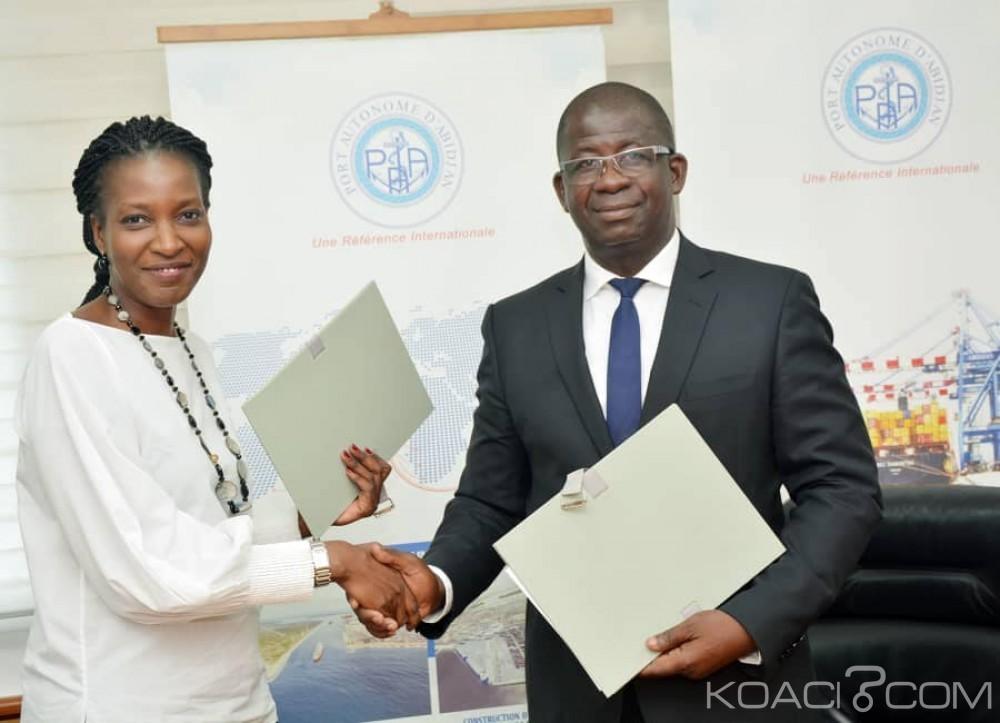 Côte d'Ivoire : Un avenant signé entre le Port et Abidjan Terminal pour la gestion et l'exploitation du Terminal à Conteneurs de Vridi