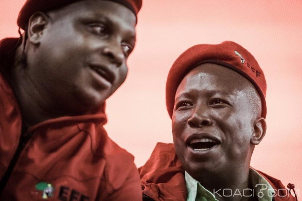 Afrique du Sud : Scandale bancaire, le parti de Julius Malema nie toute implication