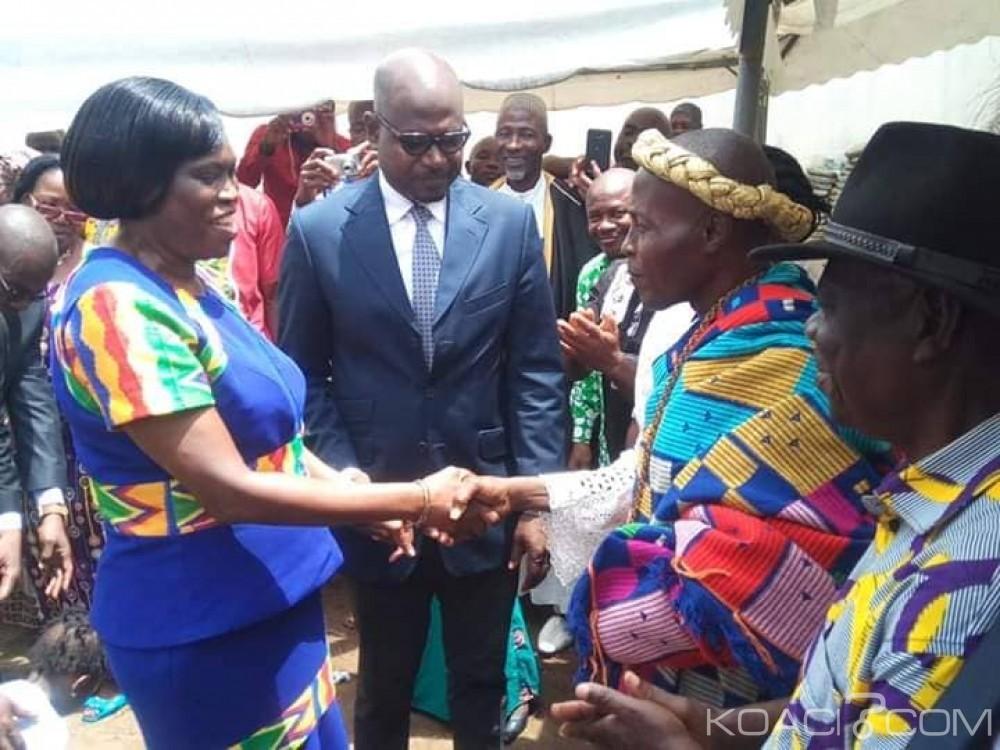 Côte d'Ivoire : Après une pause, Simone Gbagbo reprend les audiences à son domicile