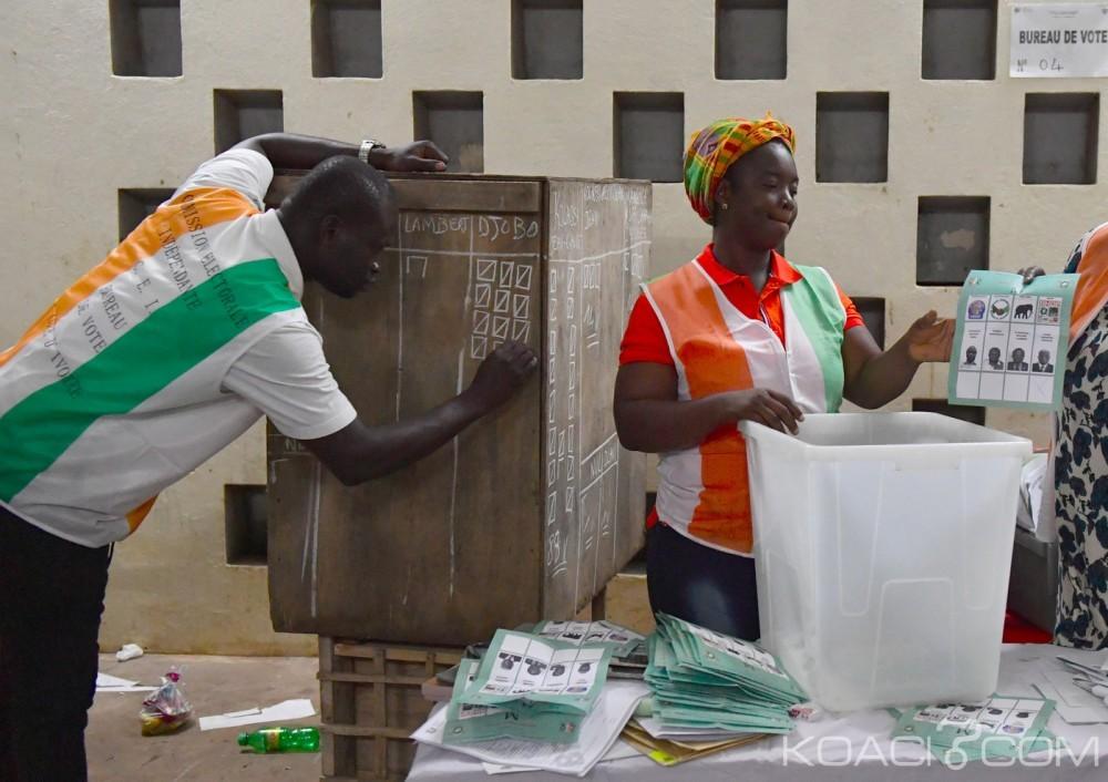 Côte d'Ivoire : Locales 2018, voici les suffrages provisoires exprimés par le PDCI et le RHDP