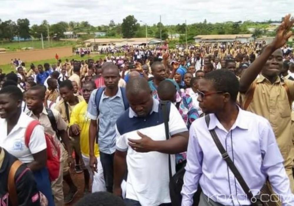 Côte d'Ivoire : La moto d'un professeur mise  en fourrière pour «mauvaise conduite», les cours paralysés à Sikensi