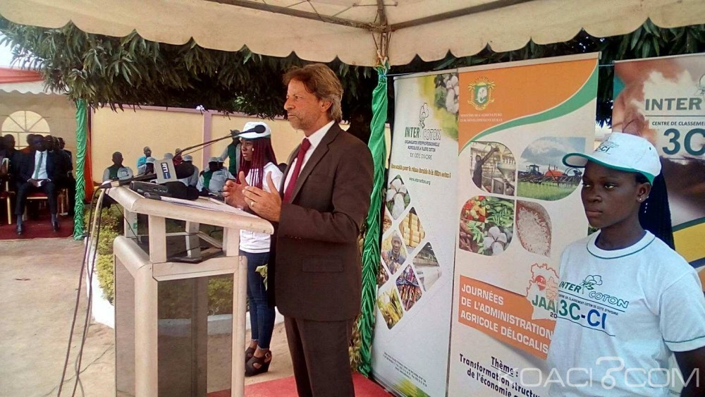 Côte d'Ivoire : Pour son assistance en faveur des actions de développement dans le domaine agricole,   l'Union Européenne hautement saluée