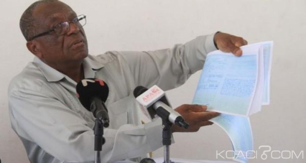 Côte d'Ivoire : Contestations des résultats à Bassam,  Georges Ezaley dans les  chancelleries pour déposer les PV