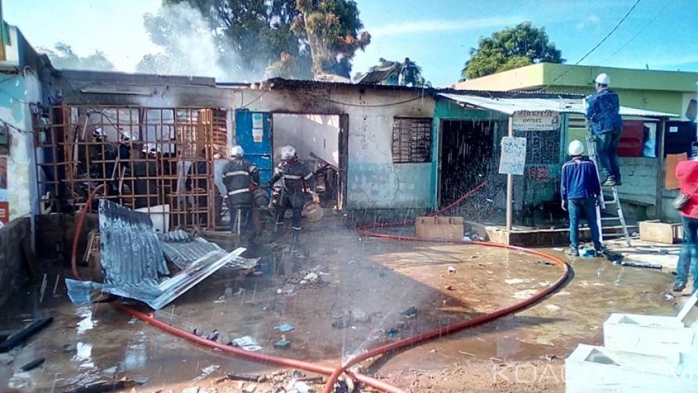 Côte d'Ivoire : Explosion dans un magasin de vente de gaz butane à Bouaké, une victime