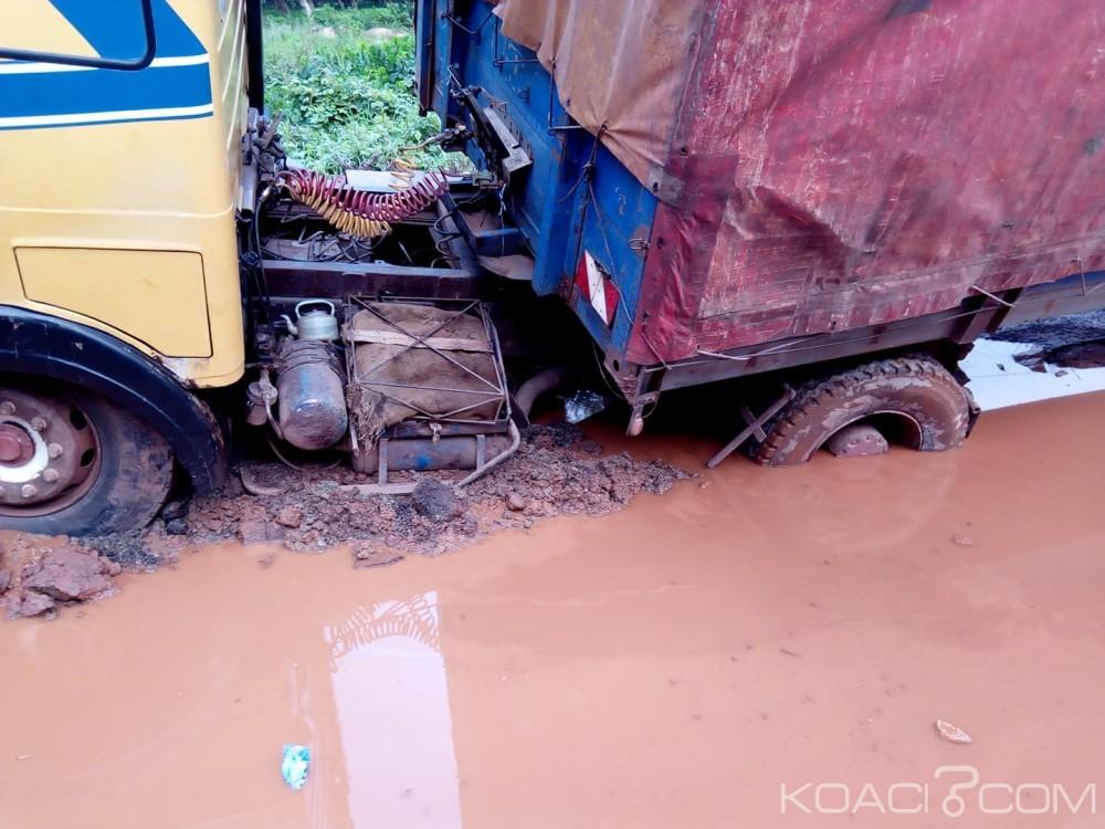 Côte d'Ivoire: Le tronçon San-pedro-Méagui-Abidjan bloqué plus de 8h de temps
