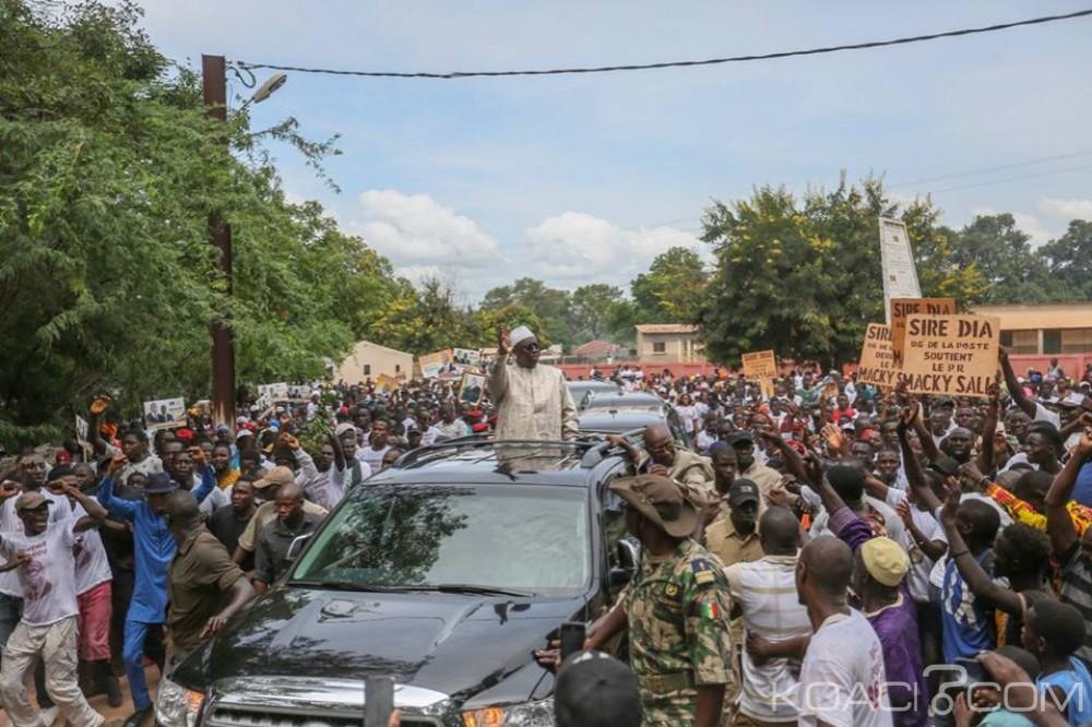 Sénégal: Un mort lors de la tournée économique du Président Macky Sall dans le sud du pays