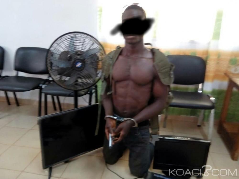 Côte d'Ivoire : Un présumé coupeur de route arrêté dans la région de Gagnoa