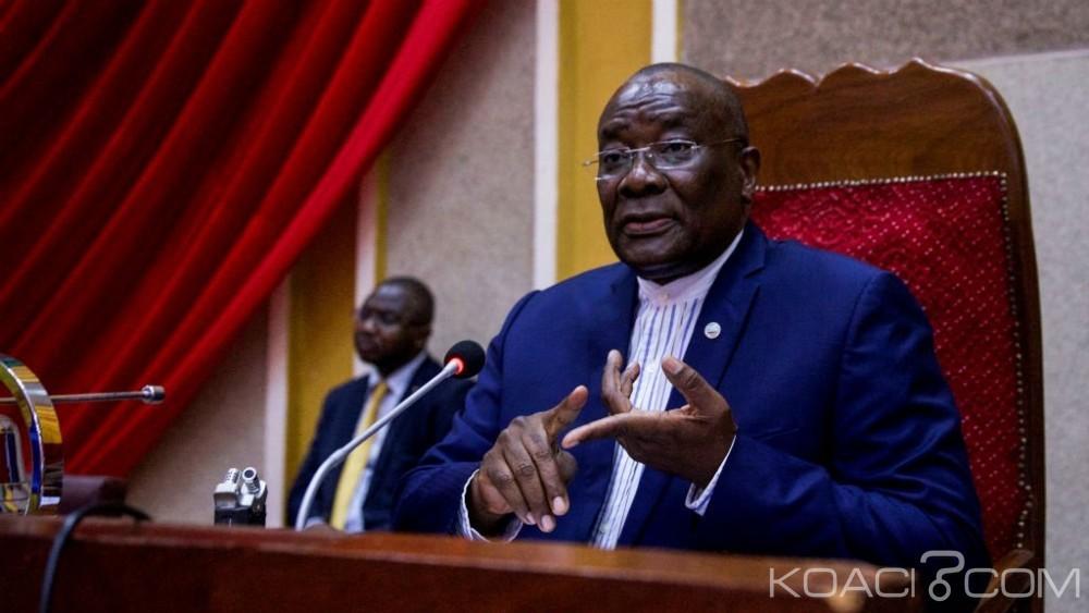 Centrafrique :  Le président de l'Assemblée nationale Karim Meckassoua finalement  destitué