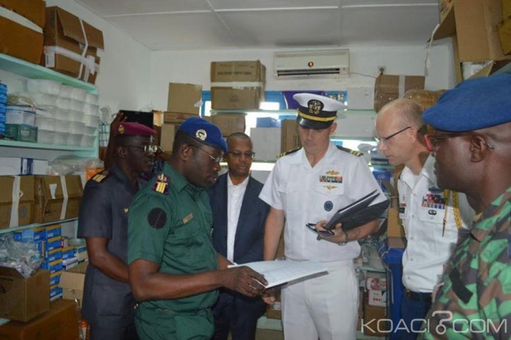 Côte d'Ivoire : Bouaké, l'Ambassade des Etats-Unis au secours de l'infirmerie de Corps de Troupe du Camp Militaire du Génie