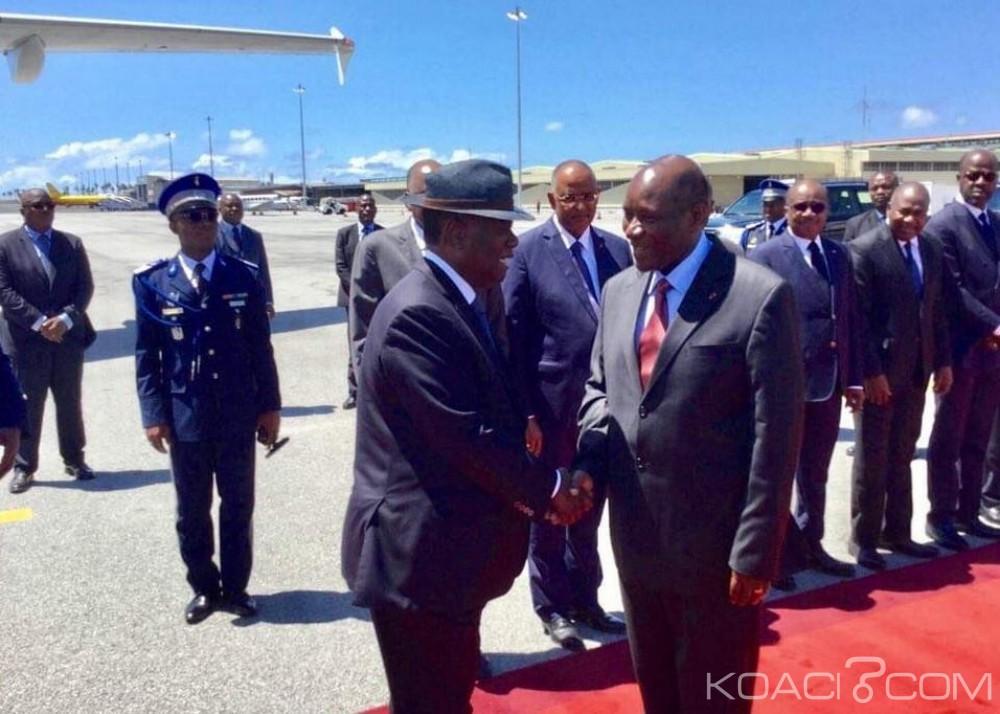 Côte d'Ivoire : G20-Afrique, commémorations, Ouattara s'envole pour l'Europe au moins jusqu'au 11 novembre