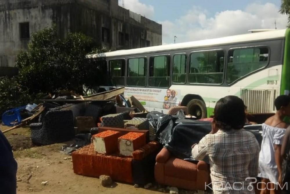 Côte d'Ivoire: Un bus de la Sotra fini sa course dans un manguier à Yopougon, 4 blessés