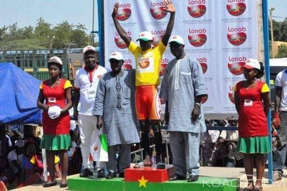 Burkina Faso : Vainqueur de la quatrième étape, Mathias Sorgho endosse le maillot jaune