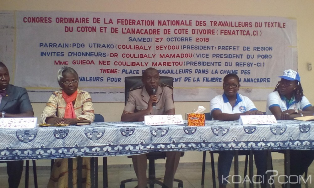 Côte d'Ivoire : Sekongo Drissa lance un appel à Alassane Ouattara: «Nous vous demandons de jeter un regard sur les filières textiles et huileries»