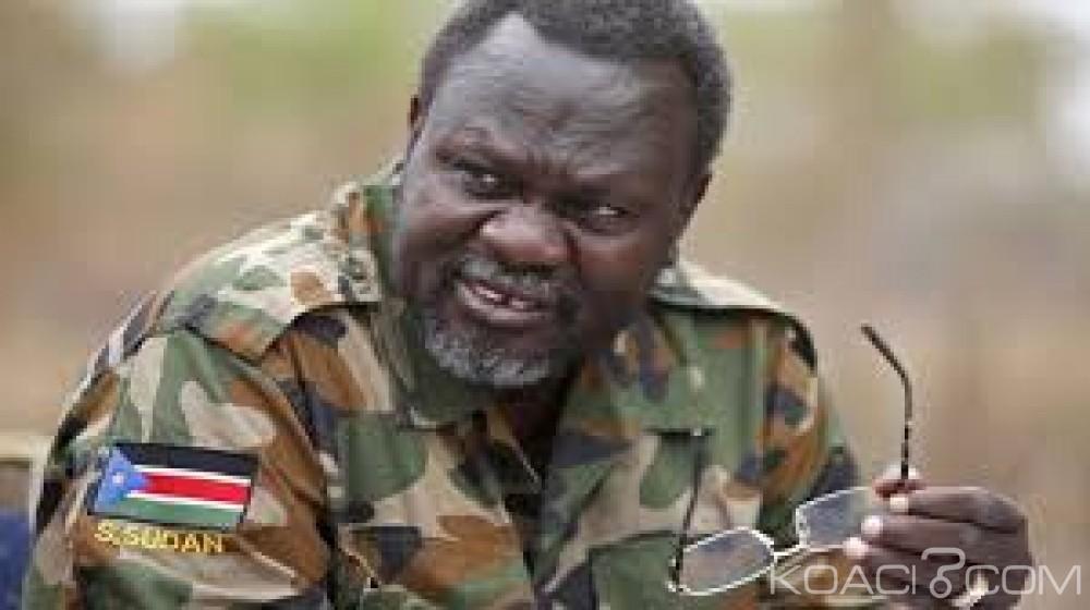 Soudan du Sud : Retour annoncé de l'ex chef- rebelle Riek Machar après deux ans d'exil forcé