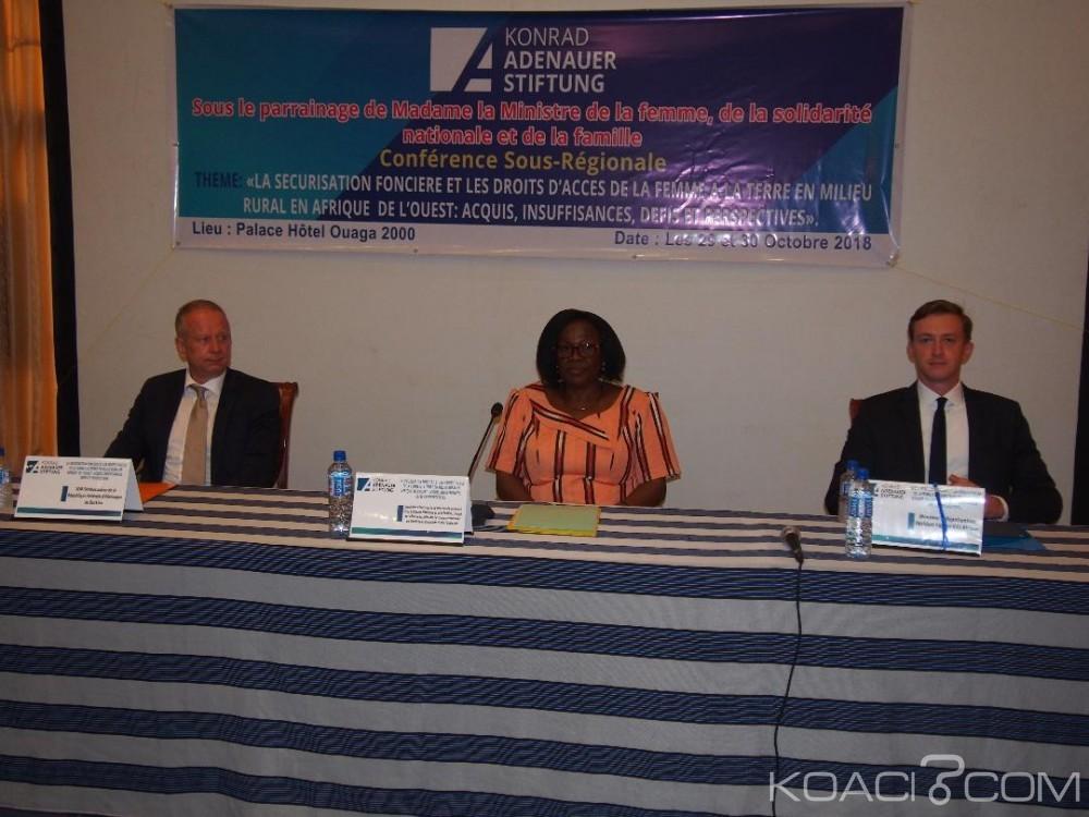 Côte d'Ivoire-Burkina : Ivoiriens, Togolais, Béninois et Burkinabés mènent la réflexion sur la sécurisation foncière et le droit d'accès des femmes aux terres
