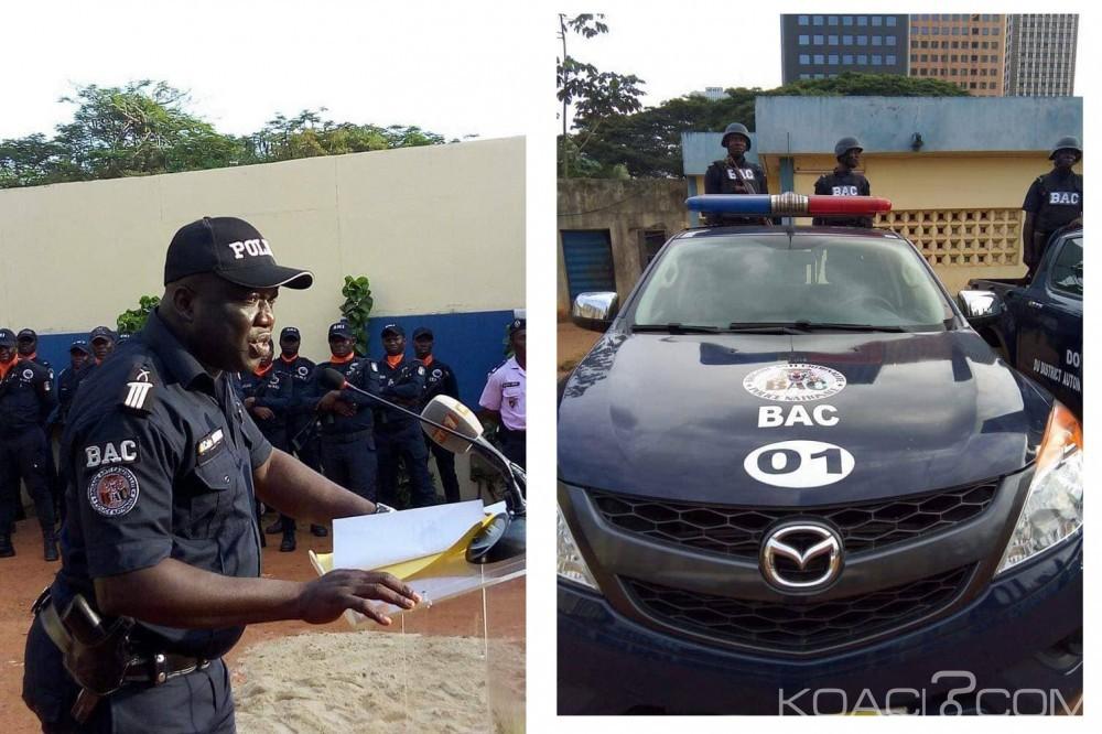 Côte d'Ivoire : Après le CCDO, naissance de la BAC, une unité d'action pour lutter contre la criminalité à Abidjan