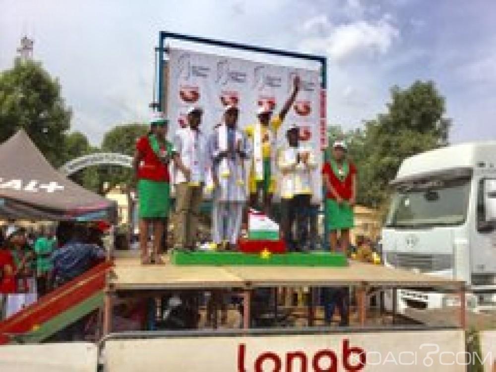 Burkina Faso : le burkinabè Mathias Sorgho remporte le 31e tour cycliste du Faso