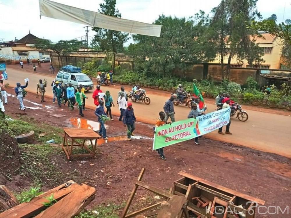 Cameroun : Faible mobilisation à Bafoussam lors d'un appel au soulèvement de l'opposant Kamto