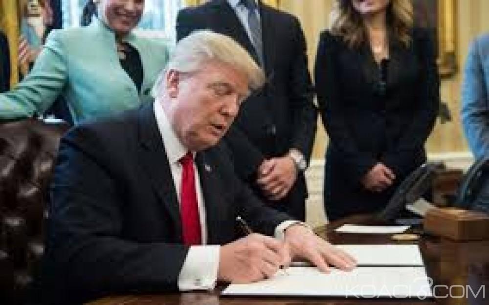 Mauritanie-USA : Donald Trump élimine la Mauritanie de l'AGOA pour pratique de l'esclavage