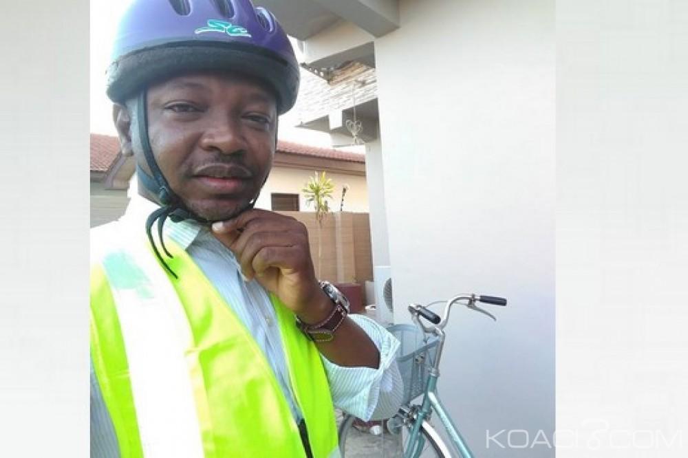 Ghana : Cherté du carburant, le député Ras Mubarak part à vélo pour le parlement