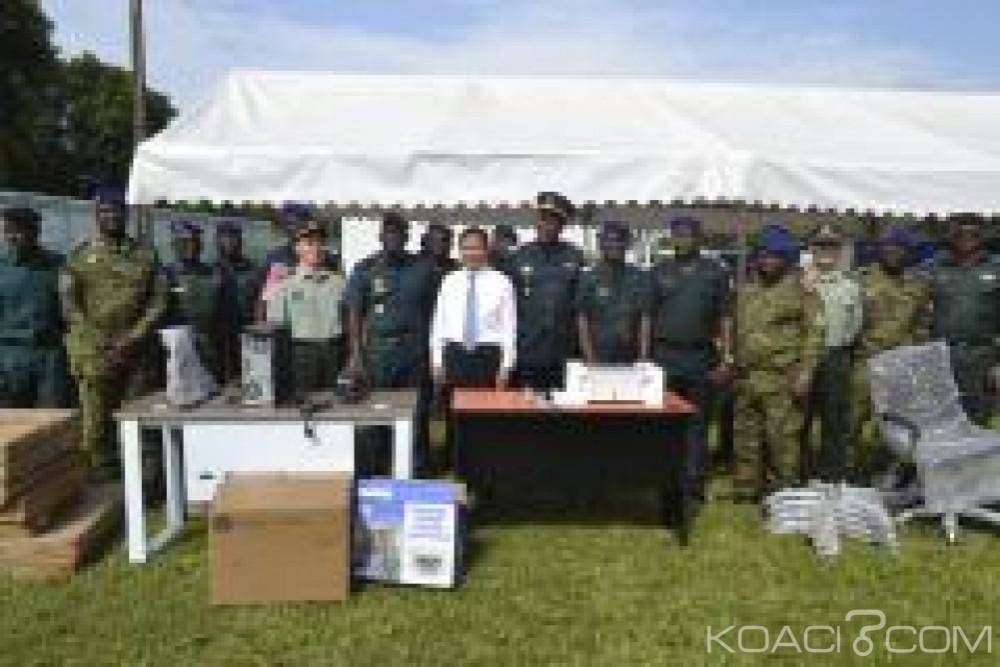 Côte d'Ivoire : Importants dons de la Chine à l'armée de terre  ivoirienne