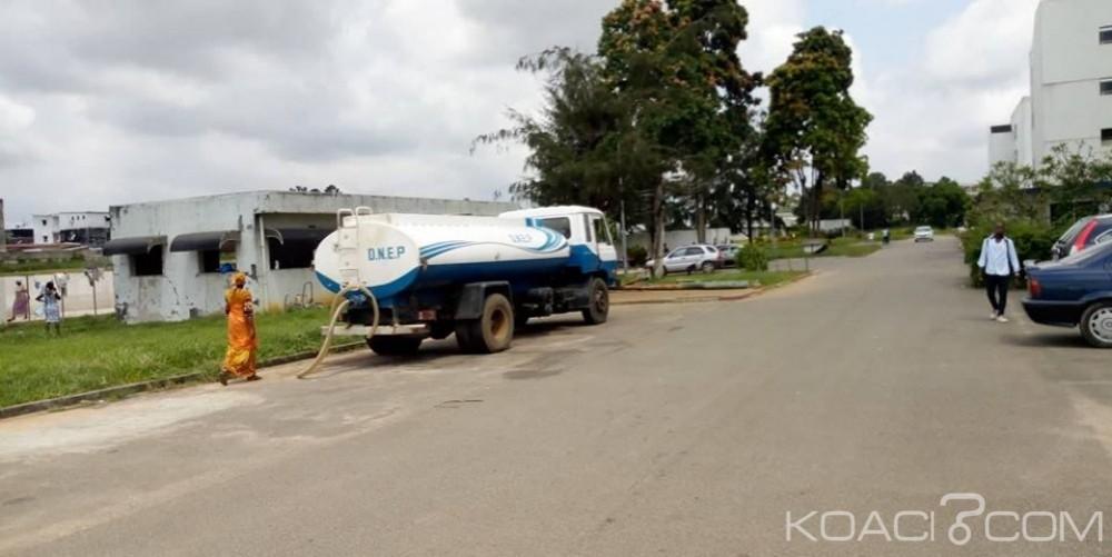 Côte d'Ivoire : Au delà de la grève, le CHU de Yopougon toujours alimenté en eau par l'ONEP