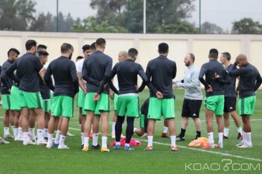 Togo-Algérie : Elim. CAN 2019, Belmadi et ses 25 joueurs sélectionnés contre les Eperviers