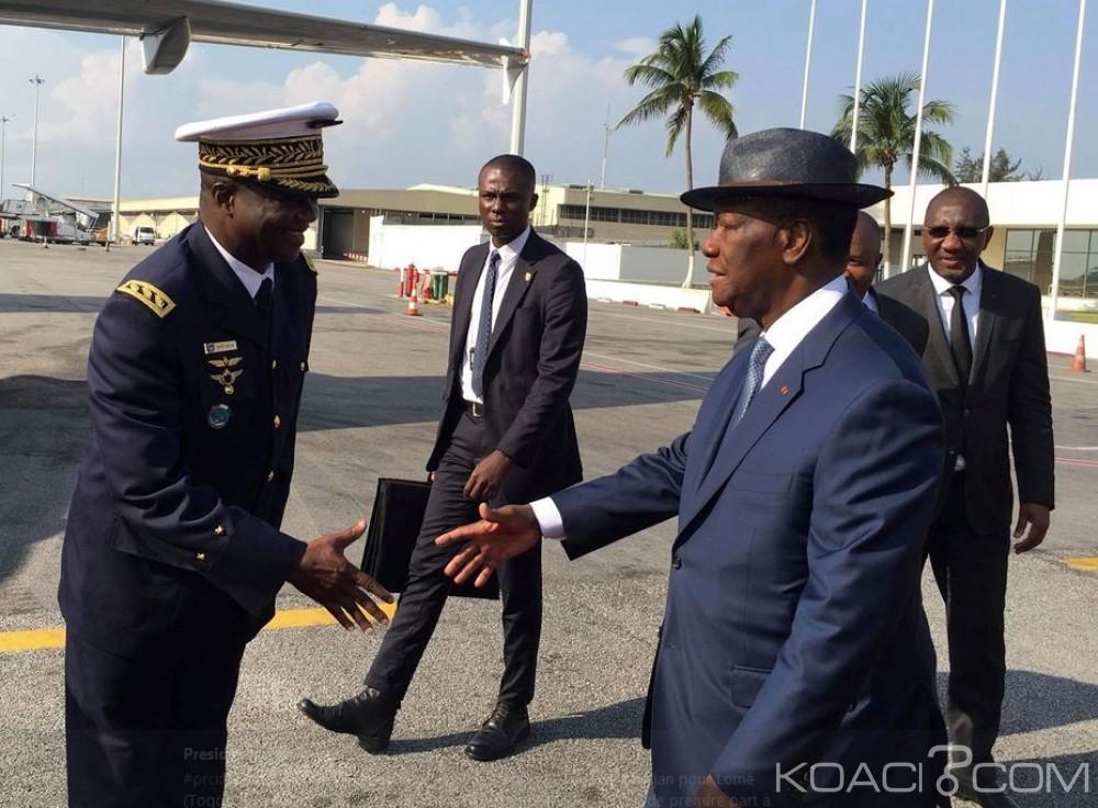 Côte d'Ivoire : 45ème anniversaire de la BOAD, Ouattara s'envole pour Lomé