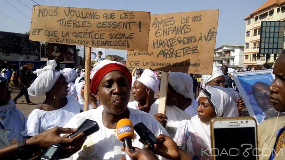 Guinée : Violences policières, une marche de femmes dispersée à coup de gaz lacrymogène à Conakry