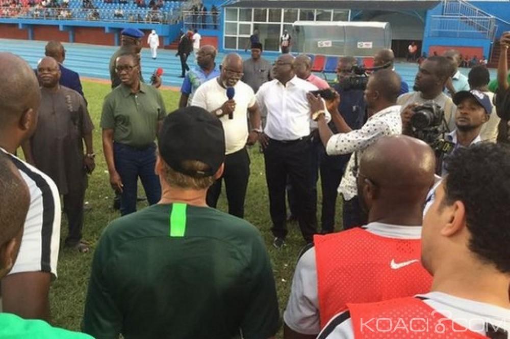 Nigeria-Afrique du Sud:  Elim. CAN 2019, Super Eagles, 25.000 dollars promis par but marqué