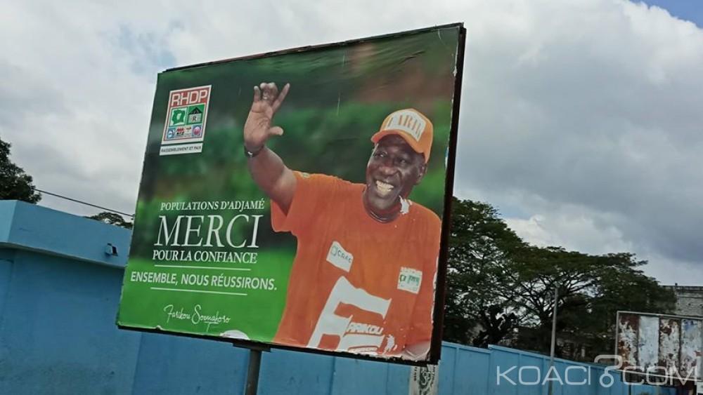 Côte d'Ivoire : Locales 2018, dans l'attente de la proclamation définitive des résultats, des candidats heureux remercient déjà leurs électeurs via des affiches