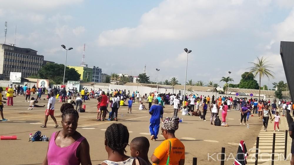Côte d'Ivoire: PlaYce fitness ou le succès d'un exercice physique gratuit en 02 ans