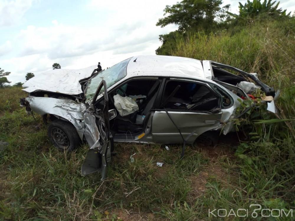 Côte d'Ivoire:  Un tragique accident  sur l'autoroute du nord enregistre trois morts