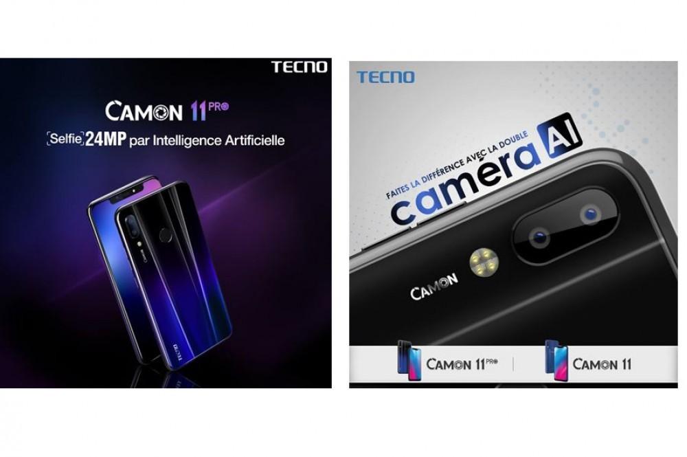 Côte d'Ivoire : Plus que quelques heures pour découvrir les nouveaux Tecno Camon 11 PRO et Camon 11