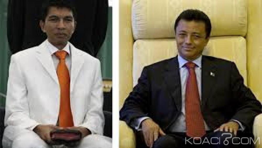 Madagascar :  Présidentielle, les deux frères ennemis Rajoelina-Ravalomanana, qualifiés pour le match retour
