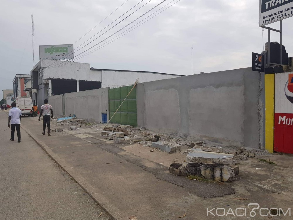 Côte d'Ivoire: Abidjan, des individus tentent de spolier un opérateur économique de son terrain situé sur le VGE avec la complicité d'un ministre, il saisi la justice