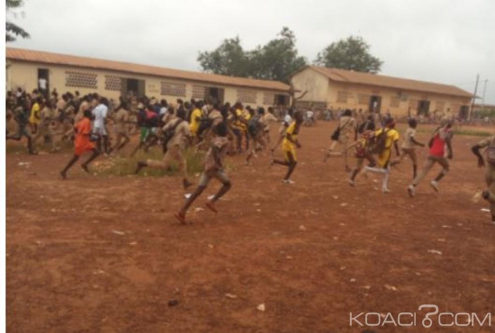 Côte d'Ivoire : Zouan Hounien, affrontements signalés entre élèves et jeunes Malinkés, la résidence du maire attaquée