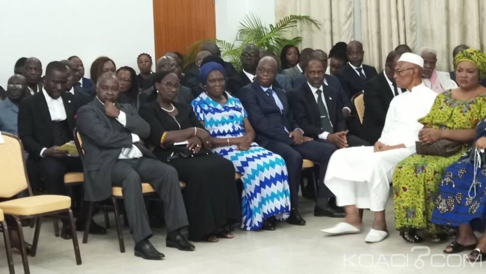Côte d'Ivoire : Hommage à Sangaré aux affaires étrangères, Affi absent, Simone répond présente