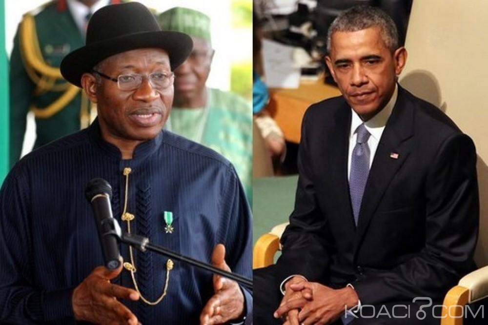 Nigeria : Jonathan accuse Obama d'avoir planifié sa défaite en 2015