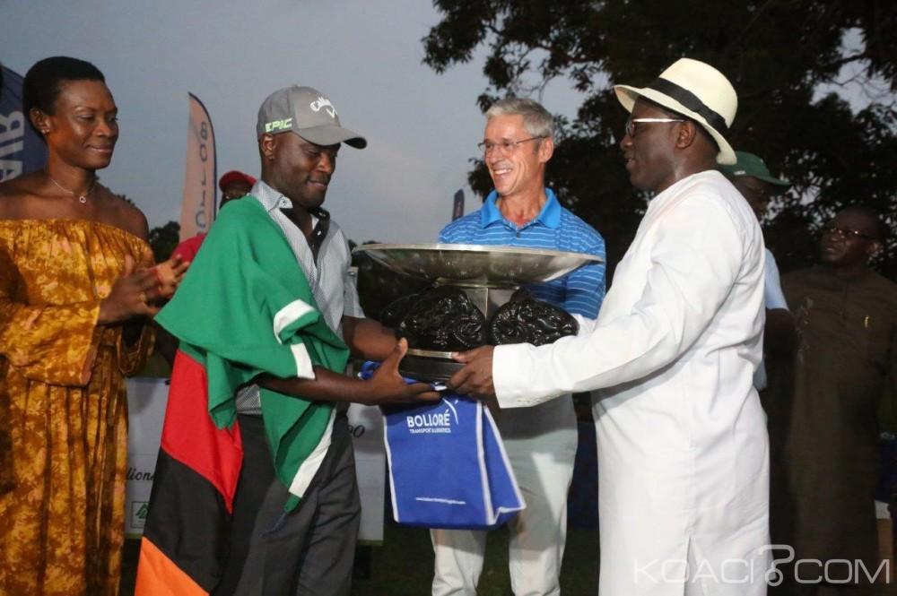 Côte d'Ivoire : Golf Open, le zambien Madalitso Muthlya établit le nouveau record de Côte d'Ivoire