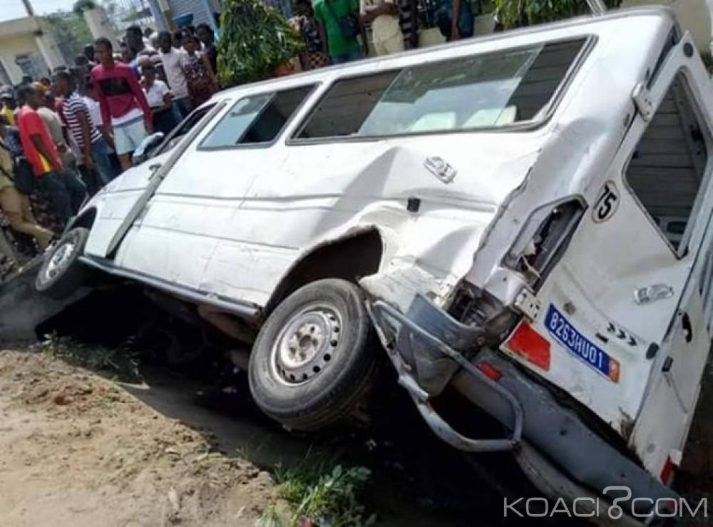 Côte d'Ivoire : À Yopougon, un mini-car renverse ses passagers, des blessés graves